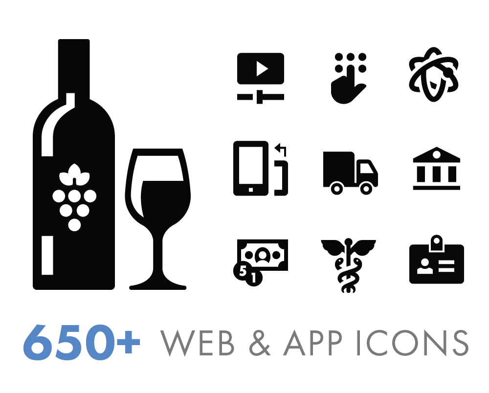 Free Download: The Iconify Collection of 650+ Icons