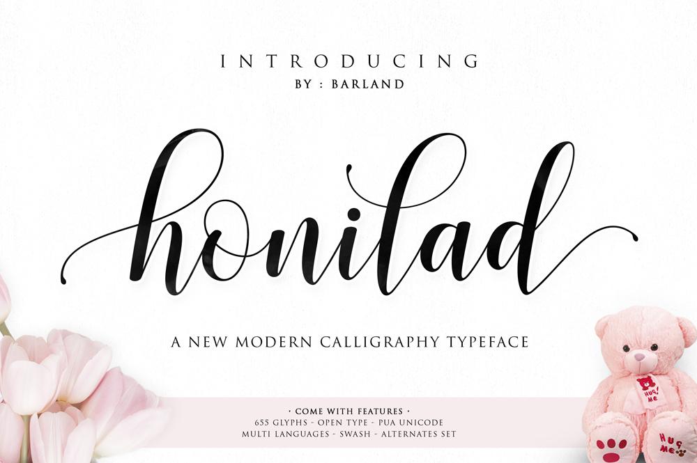Free Download: Honilad Script | Webdesigner Depot