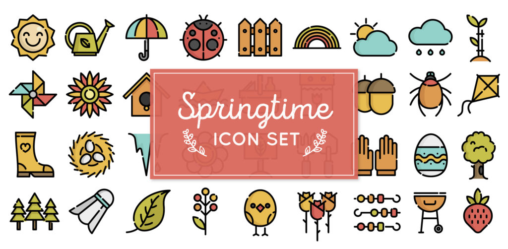 Free Download: Spring Icons