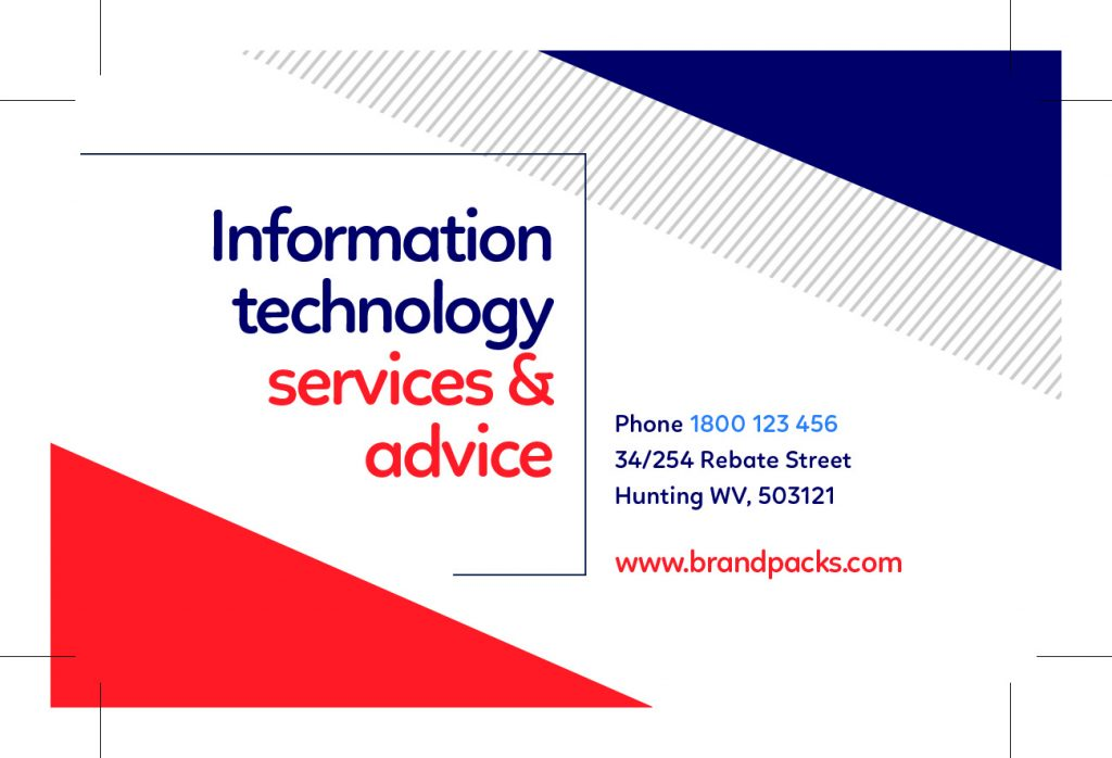 IT Services Business Card 02