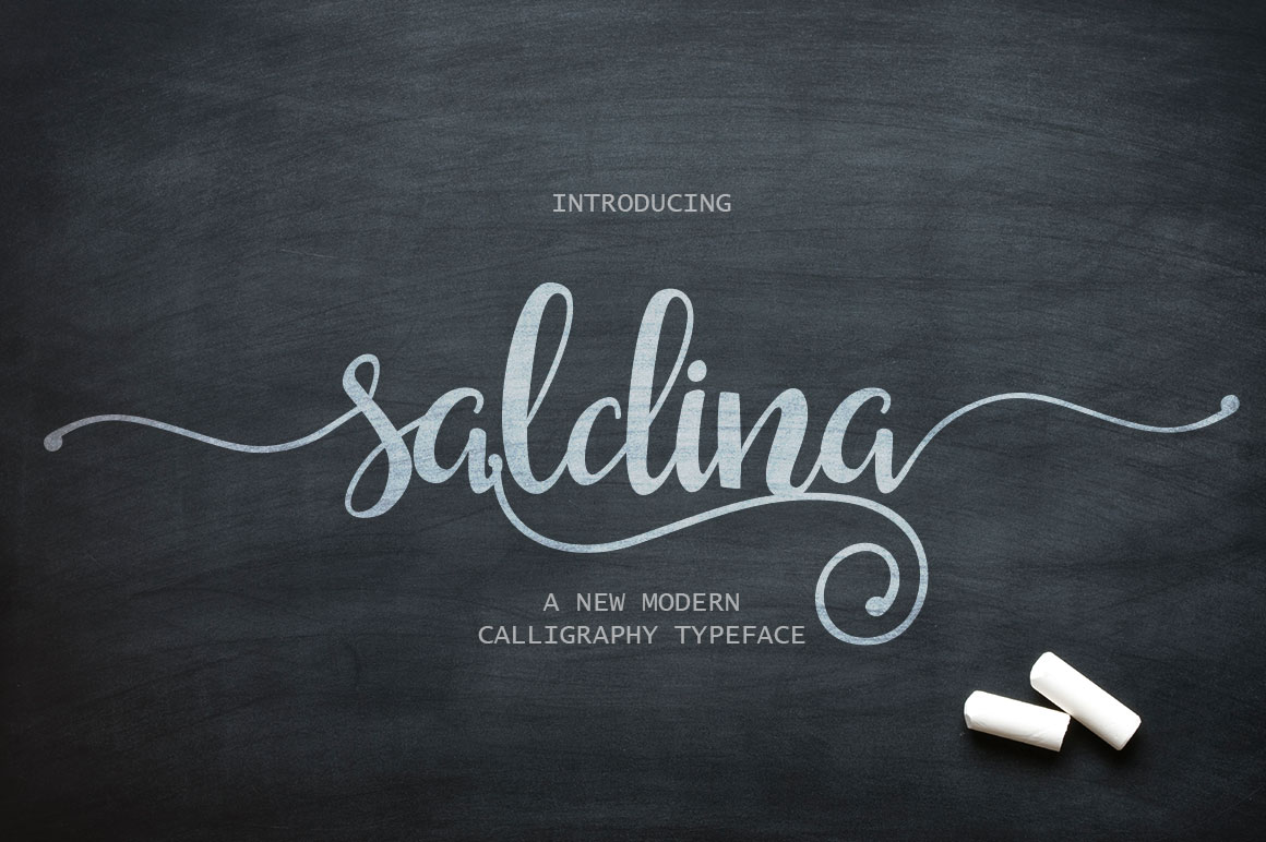 Free Download: Saldina Typeface