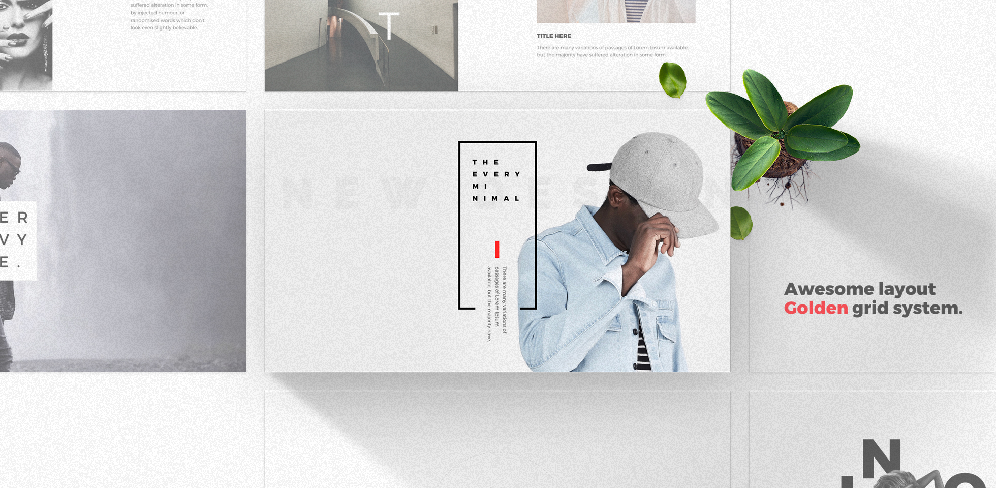 Free Download: Every – Minimal Powerpoint & Keynote Template ...