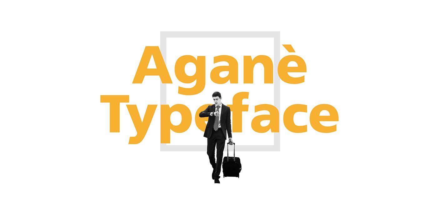 Free Download: Aganè Typeface