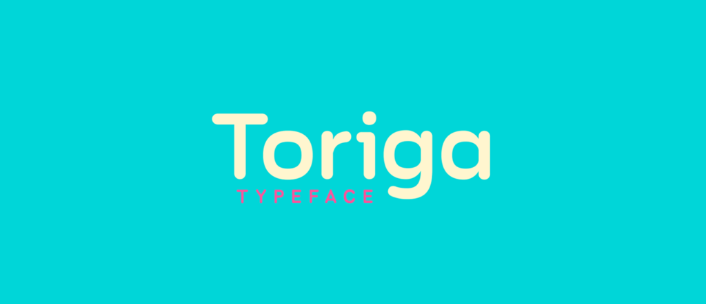 Free Download: Toriga Medium Typeface