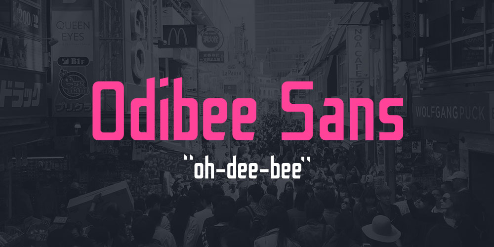 Free Download: Odibee Sans