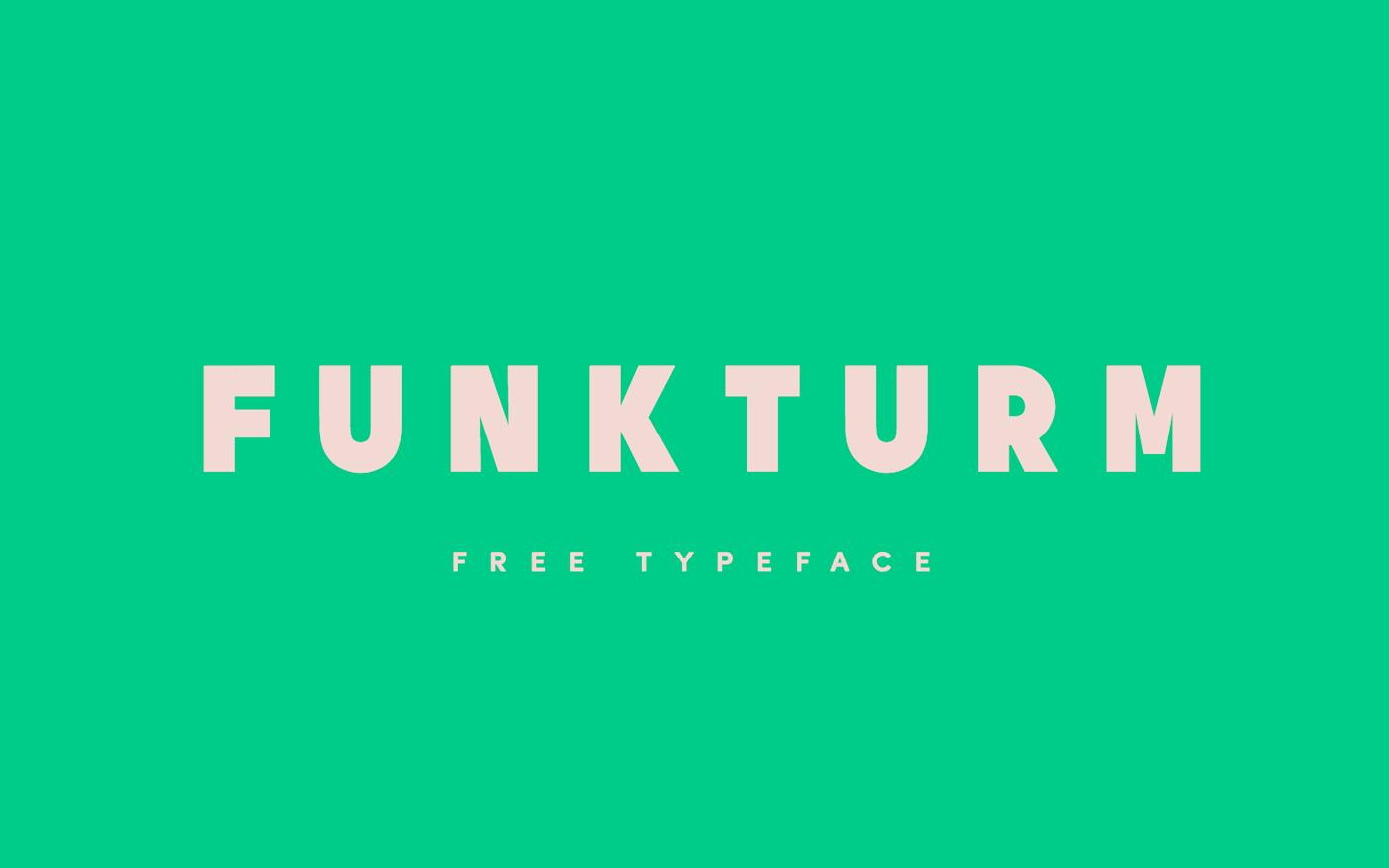 Free Download: Funkturm Typeface