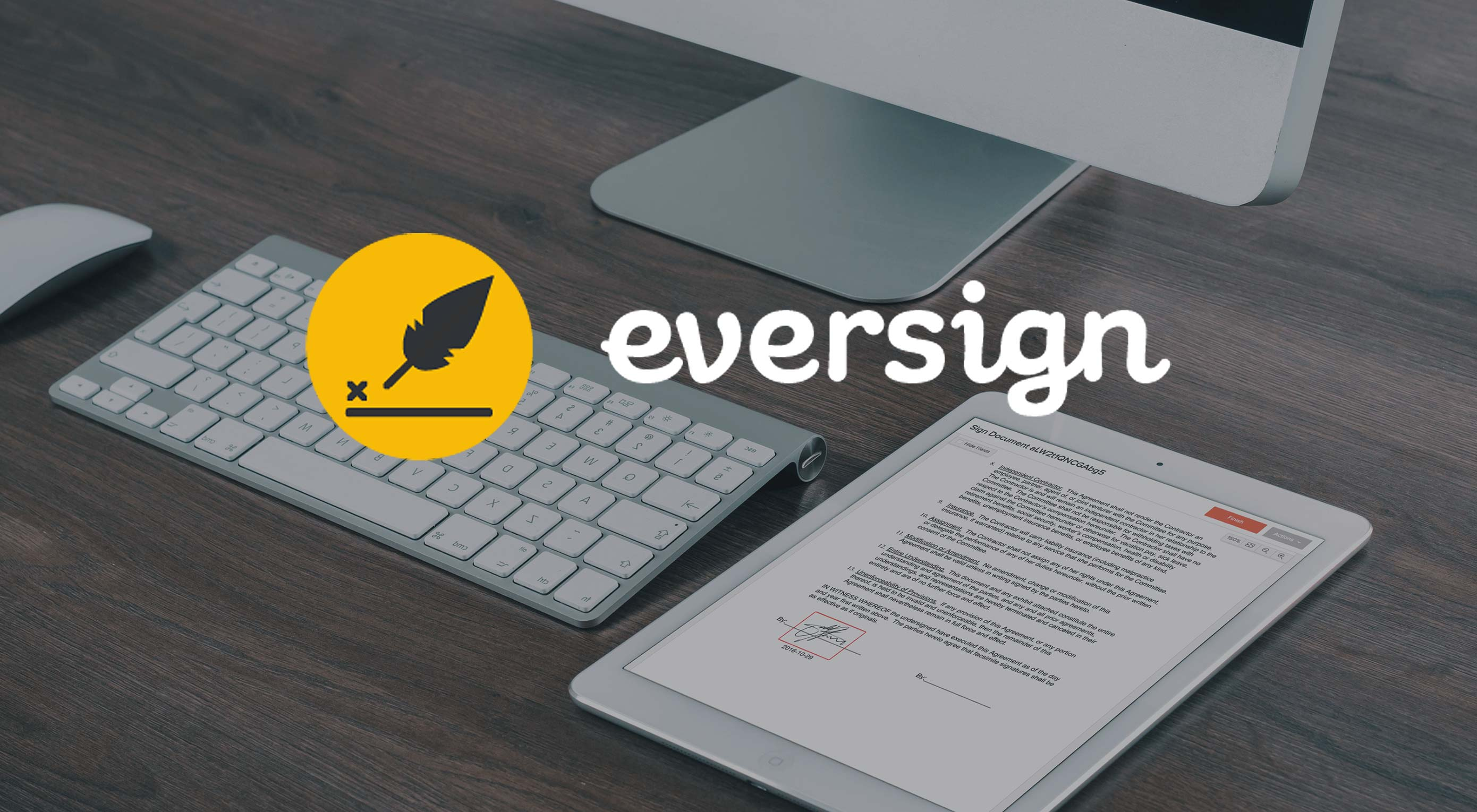 Wow Clients with eversign's Electronic Signatures