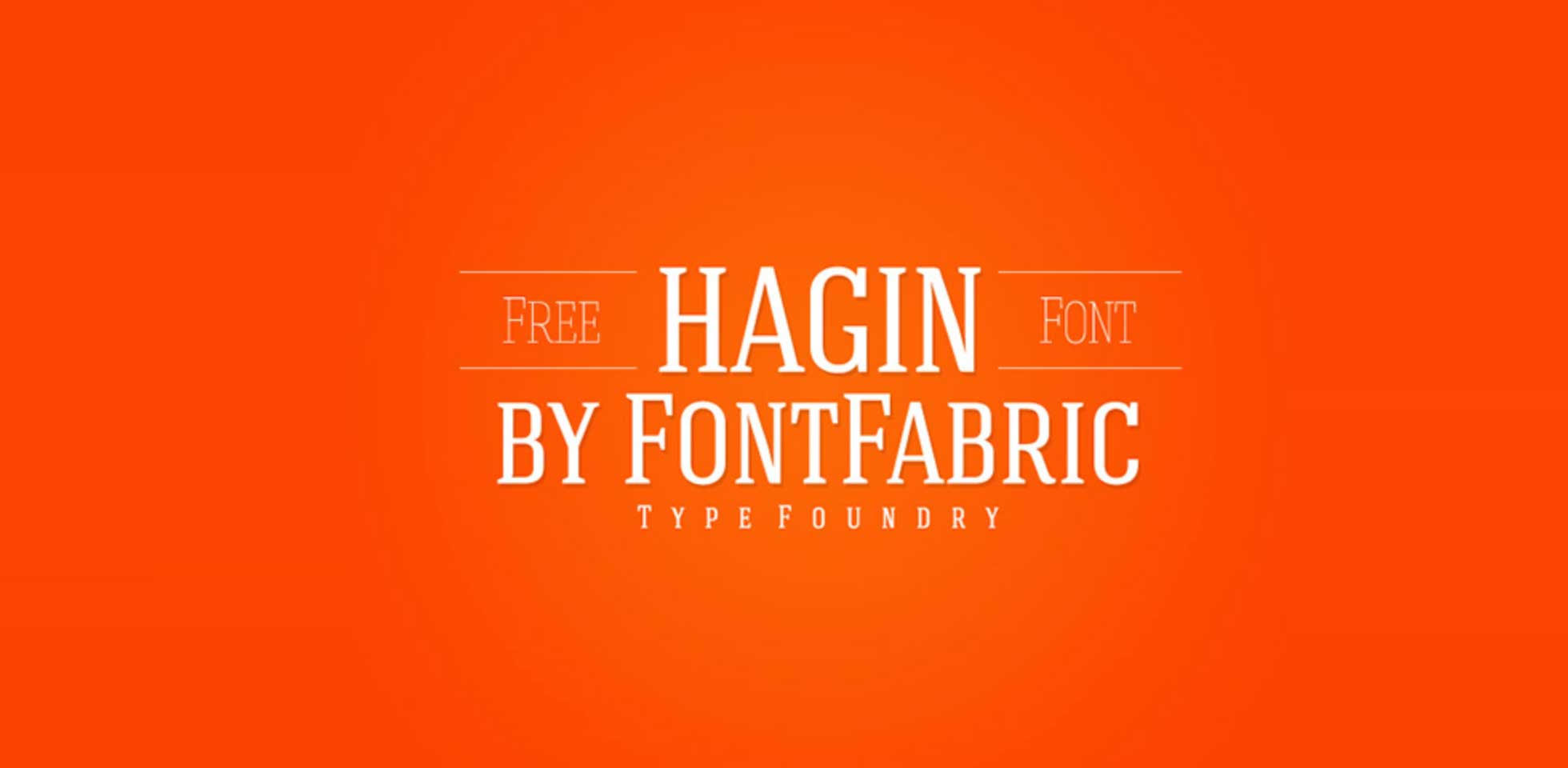 Free Download: Hagin Serif