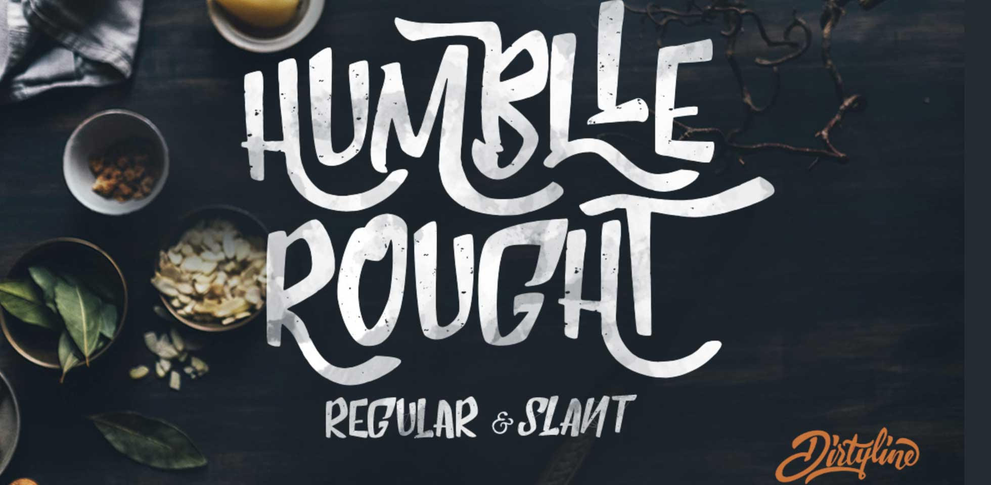 Free Download: Humblle Rought Font