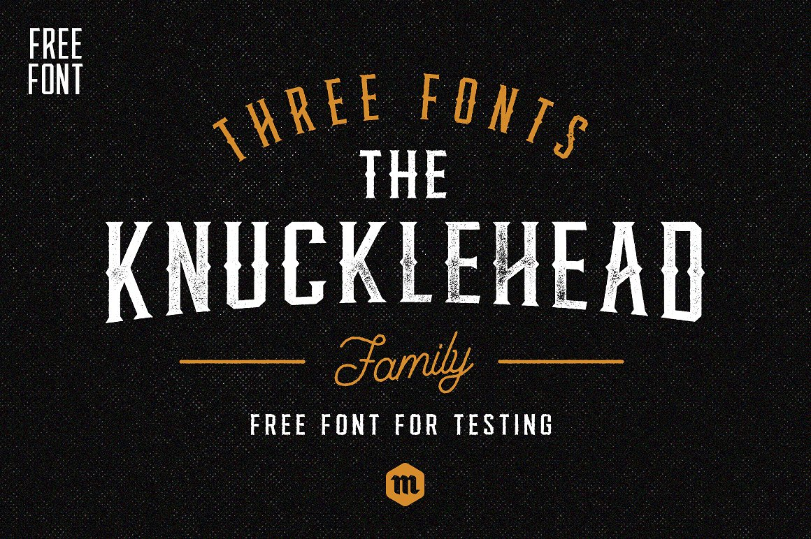 Free Download: Knucklehead Font