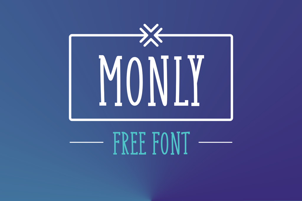 Free Download: Monly Font