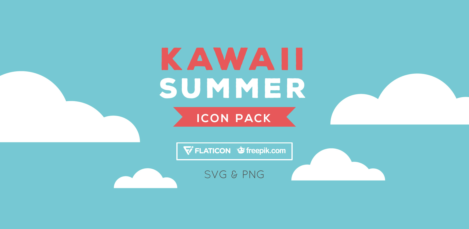 Free Download: Kawaii Summer Icon Pack