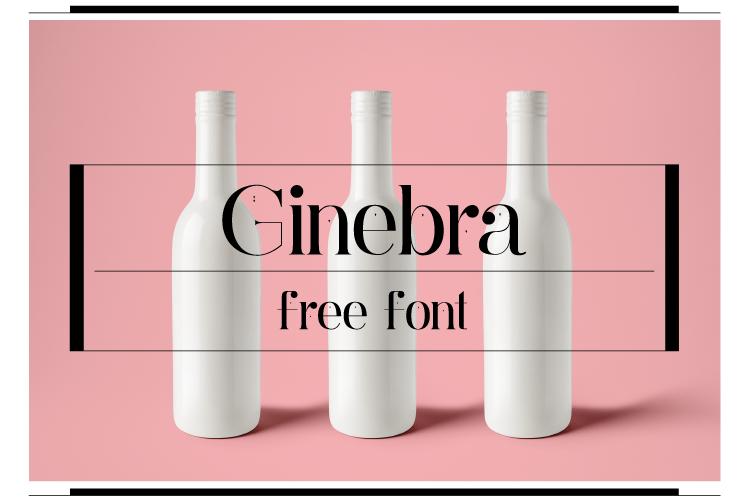 Free Download: Ginebra Font