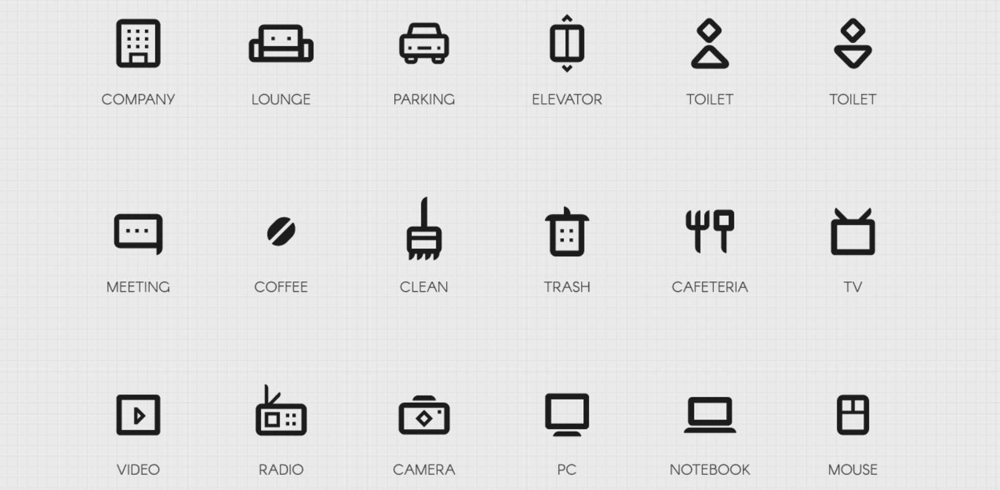 Free Download: Company Icon Set
