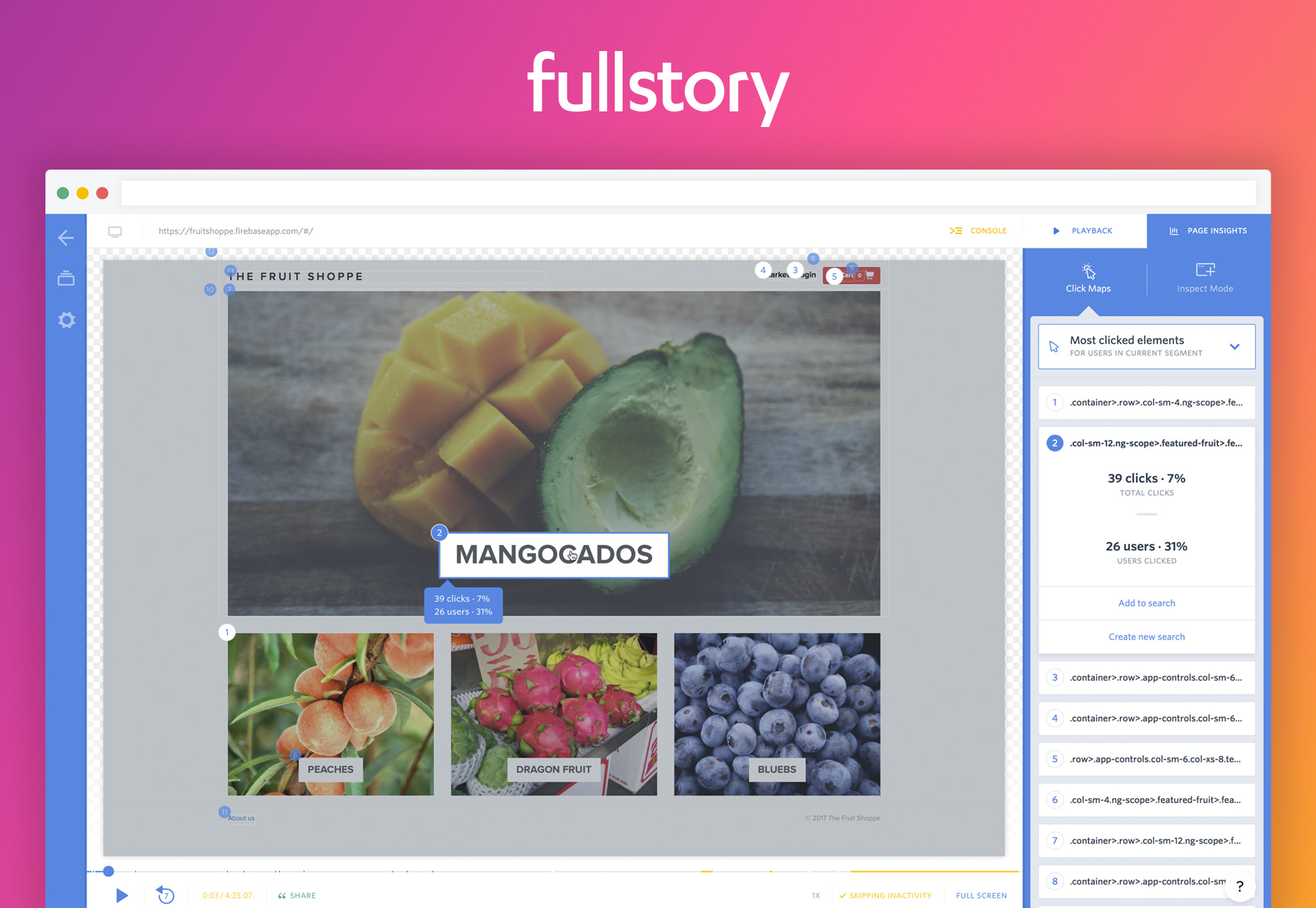 BDiscover Actionable Page Insights with FullStory