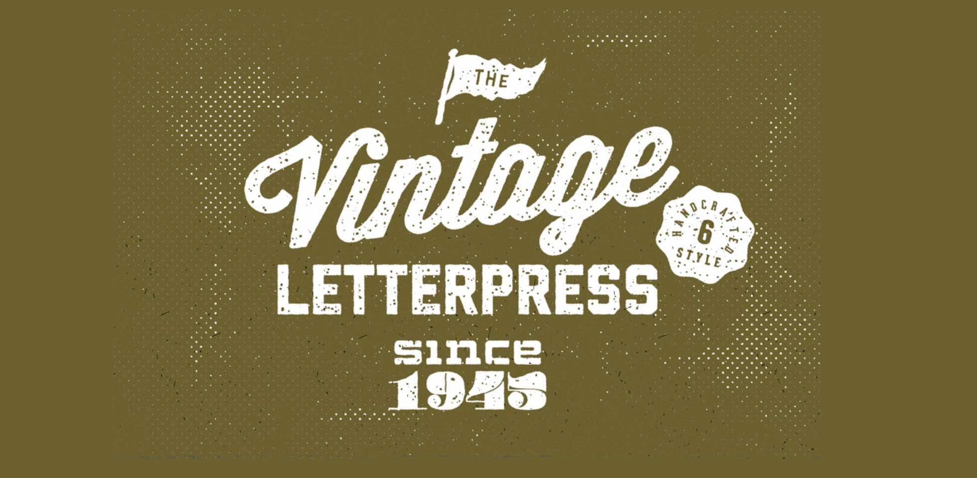 Free Download: Vintage Letterpress Text Effects