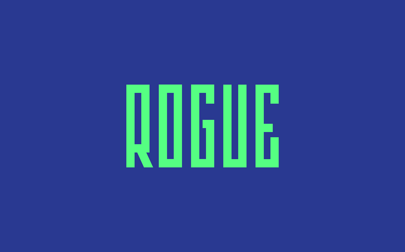 Free Download: Rogue Font