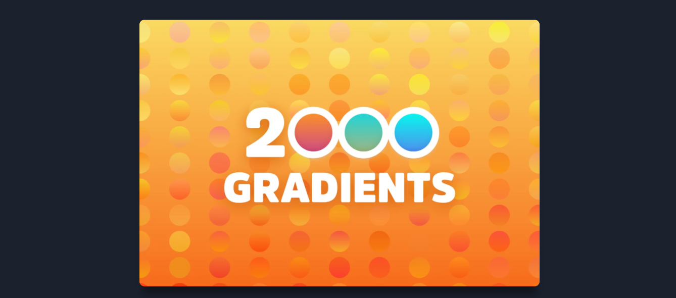 Free Download: 2000 Sketch Gradients