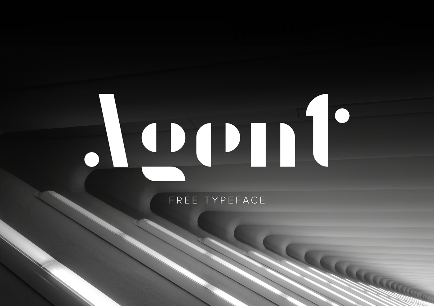 Free Download: Agent Font