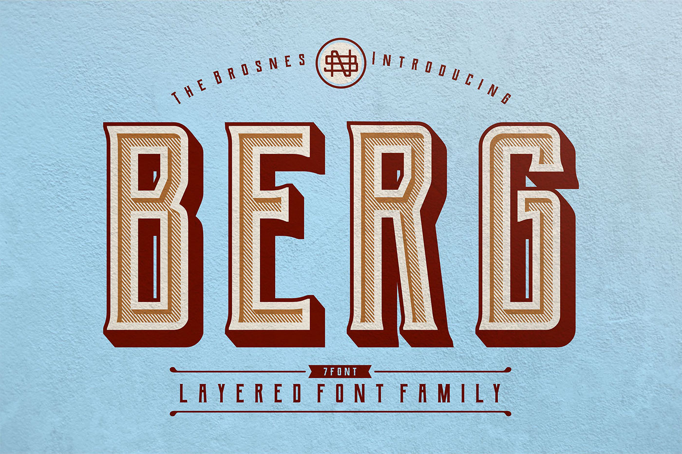 Free Download: Berg Font Family