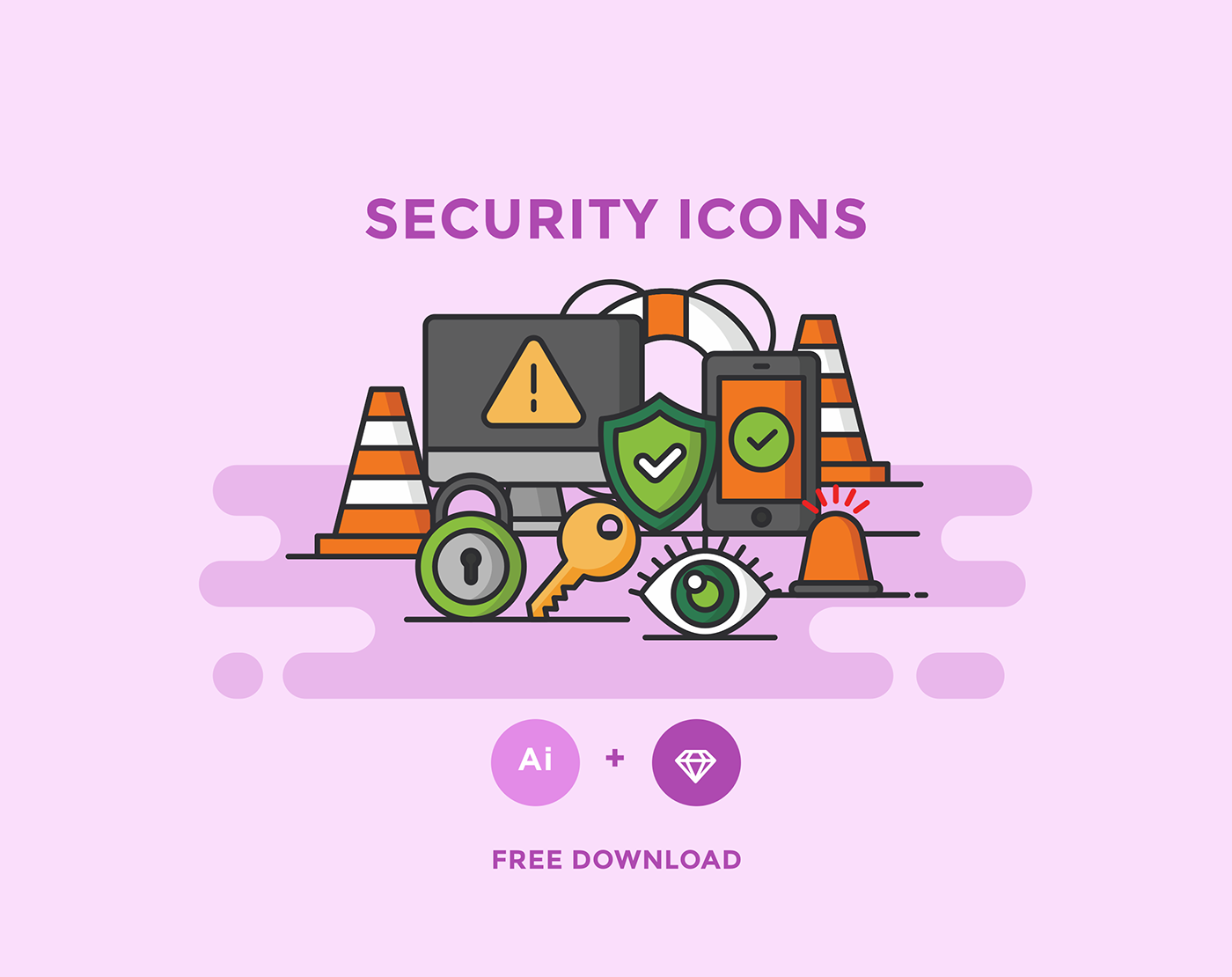 Free Download: Security Icons