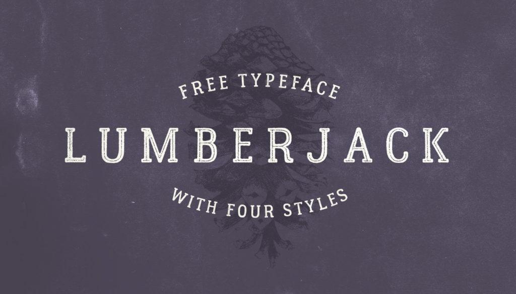 Free Download: Lumberjack Font