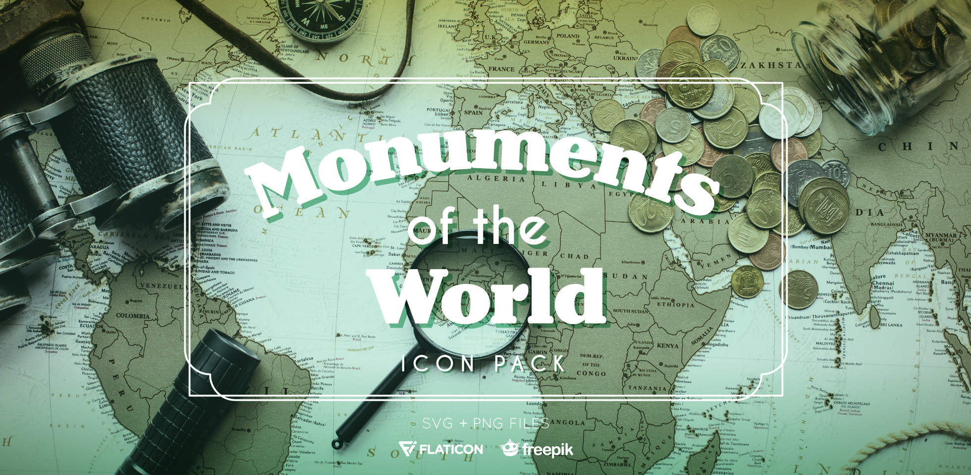 Free Download: Monuments of the World Icon Pack