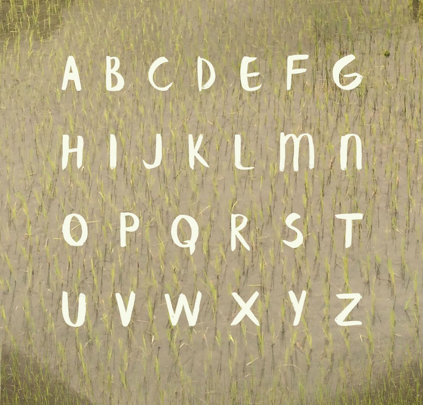Free Download Banaue Brush Font