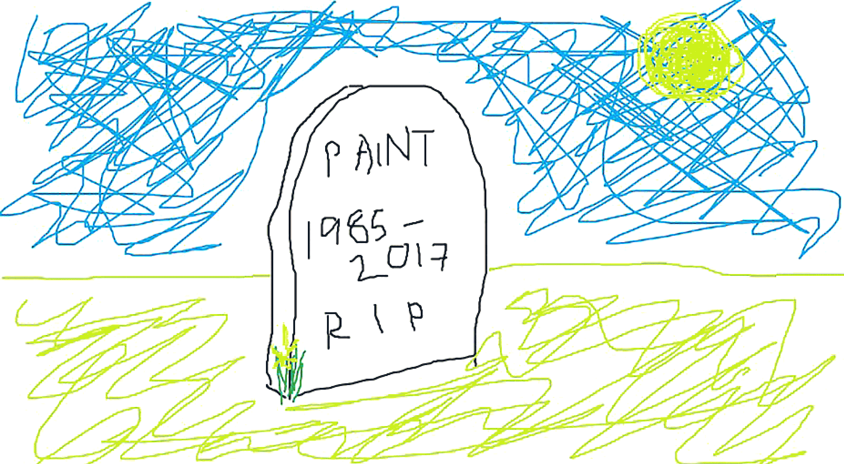 RIP MS Paint, You Will be Missed
