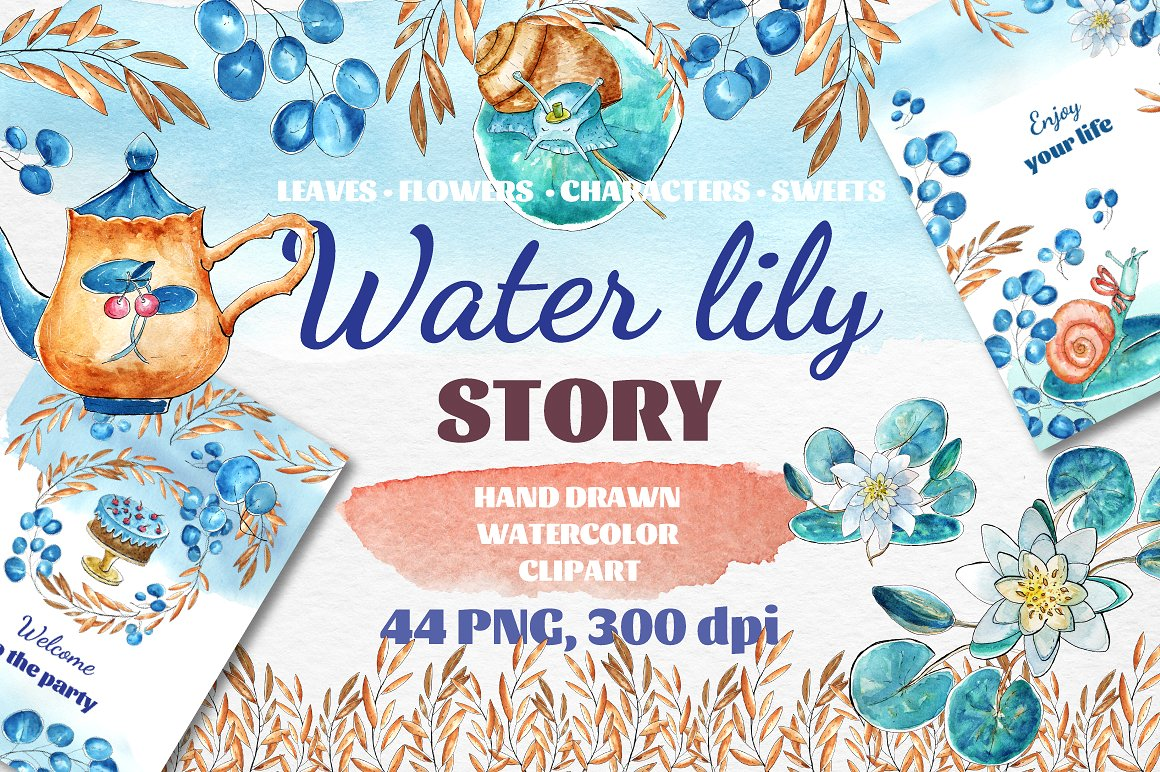 Free Download: Water Lily Story