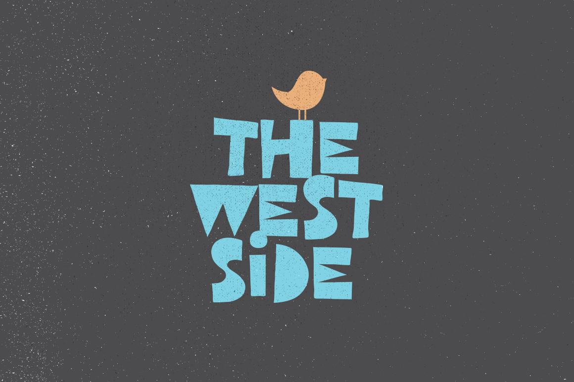 Free Download: West Side Font