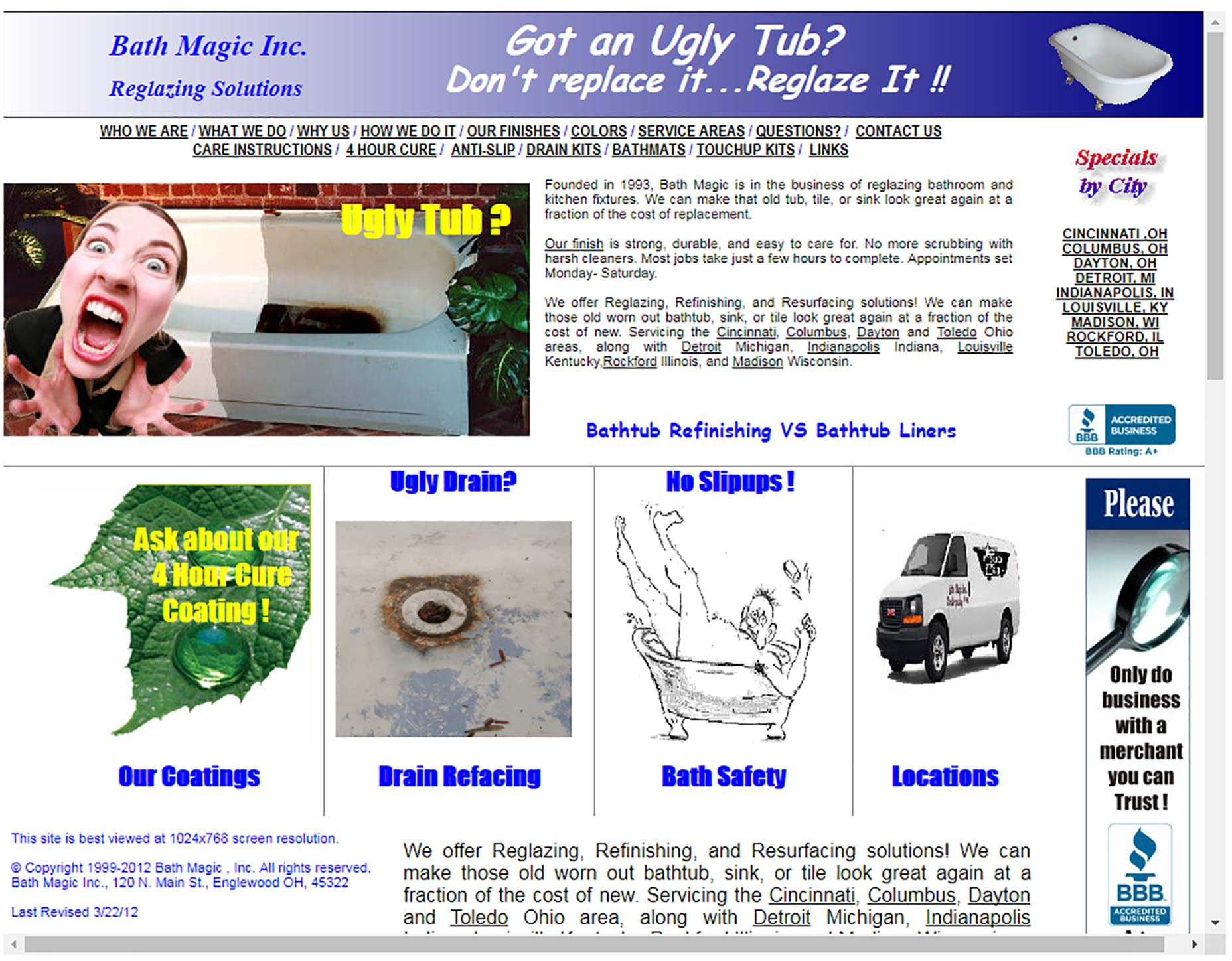 Bath Magic Tub Refinishing SInk Reglazing Tile Resurfacing