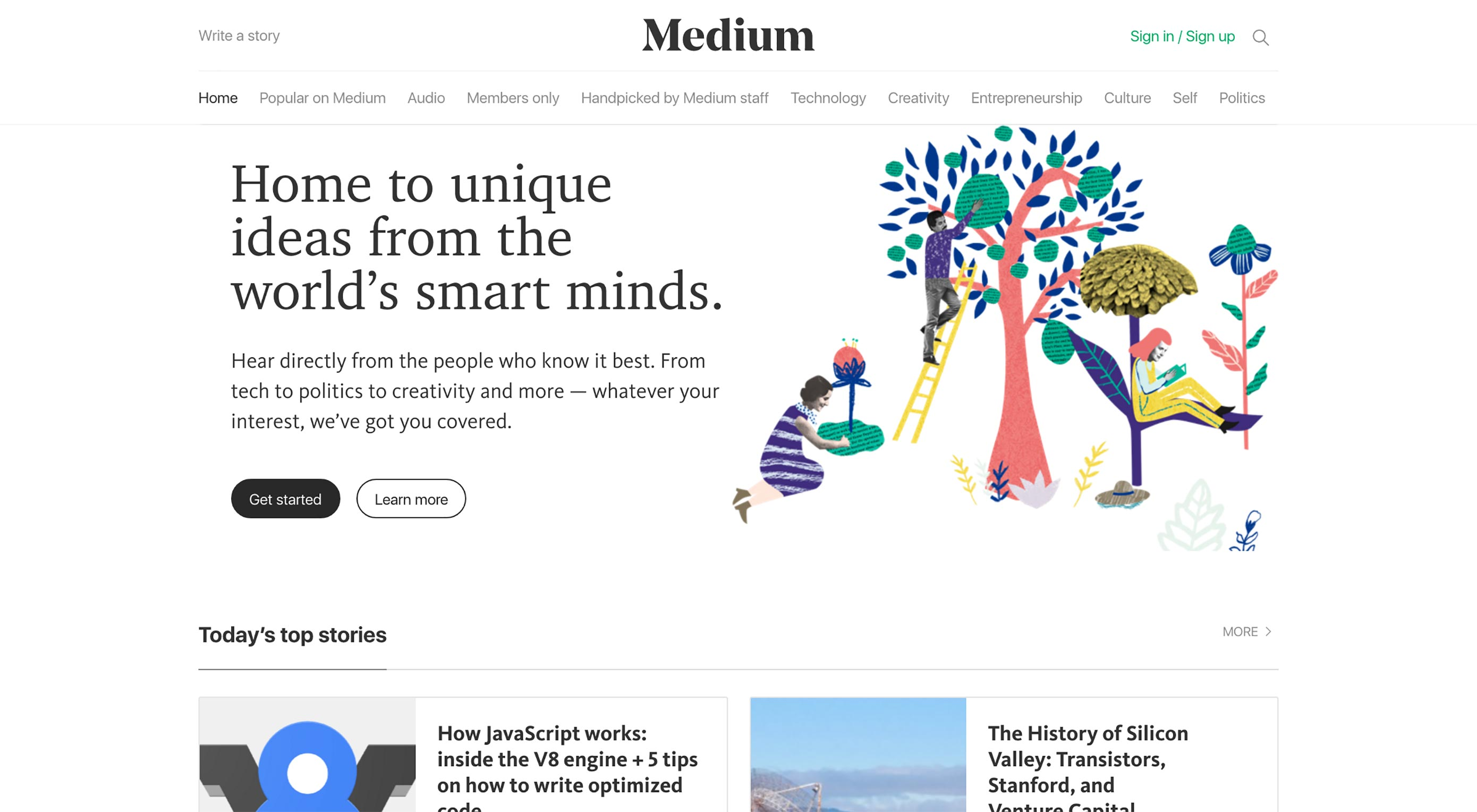 3rd Time Lucky for Medium's Logo