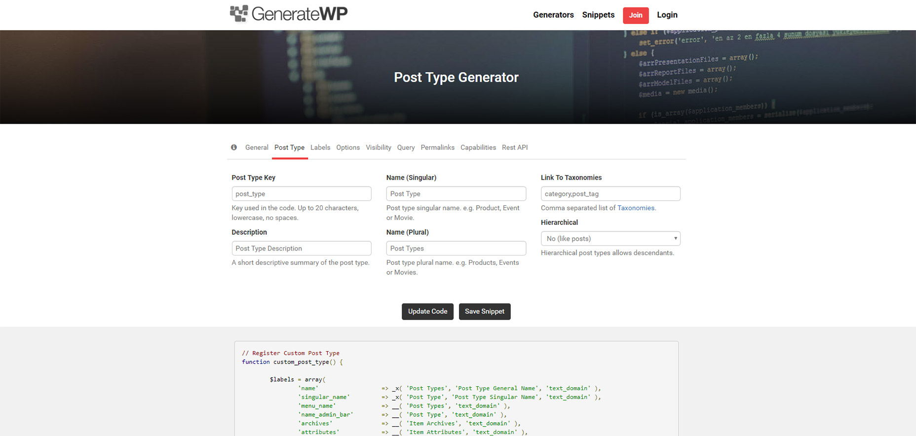 8 Free WordPress Code Generators, Tools, and Webapps | Webdesigner Depot