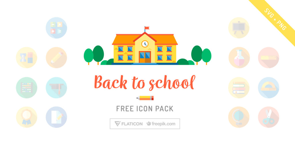Free Download: Back to School Icons