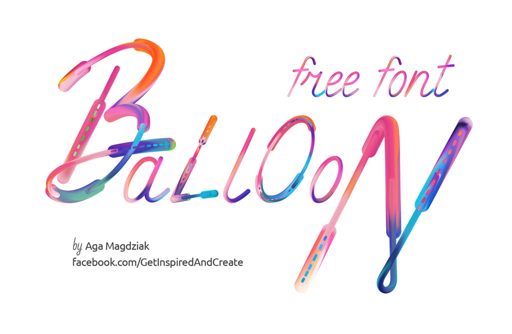 Free Download: Balloon Font