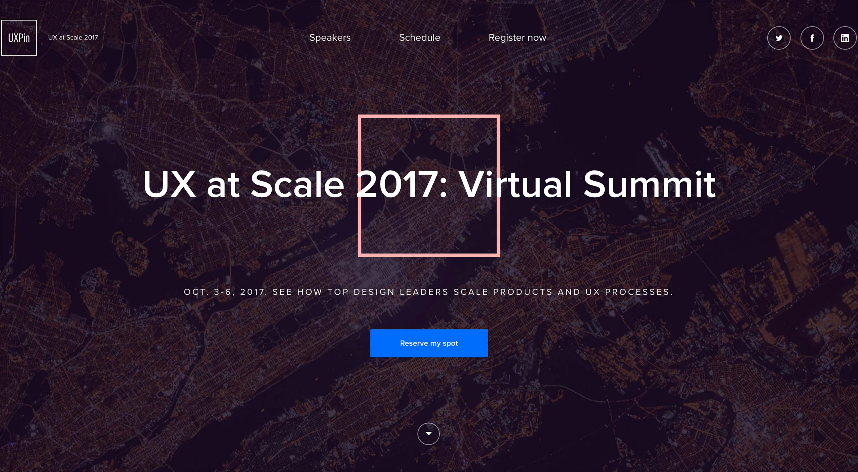 UX at Scale 2017: Free online conference with 20,000+ registrants