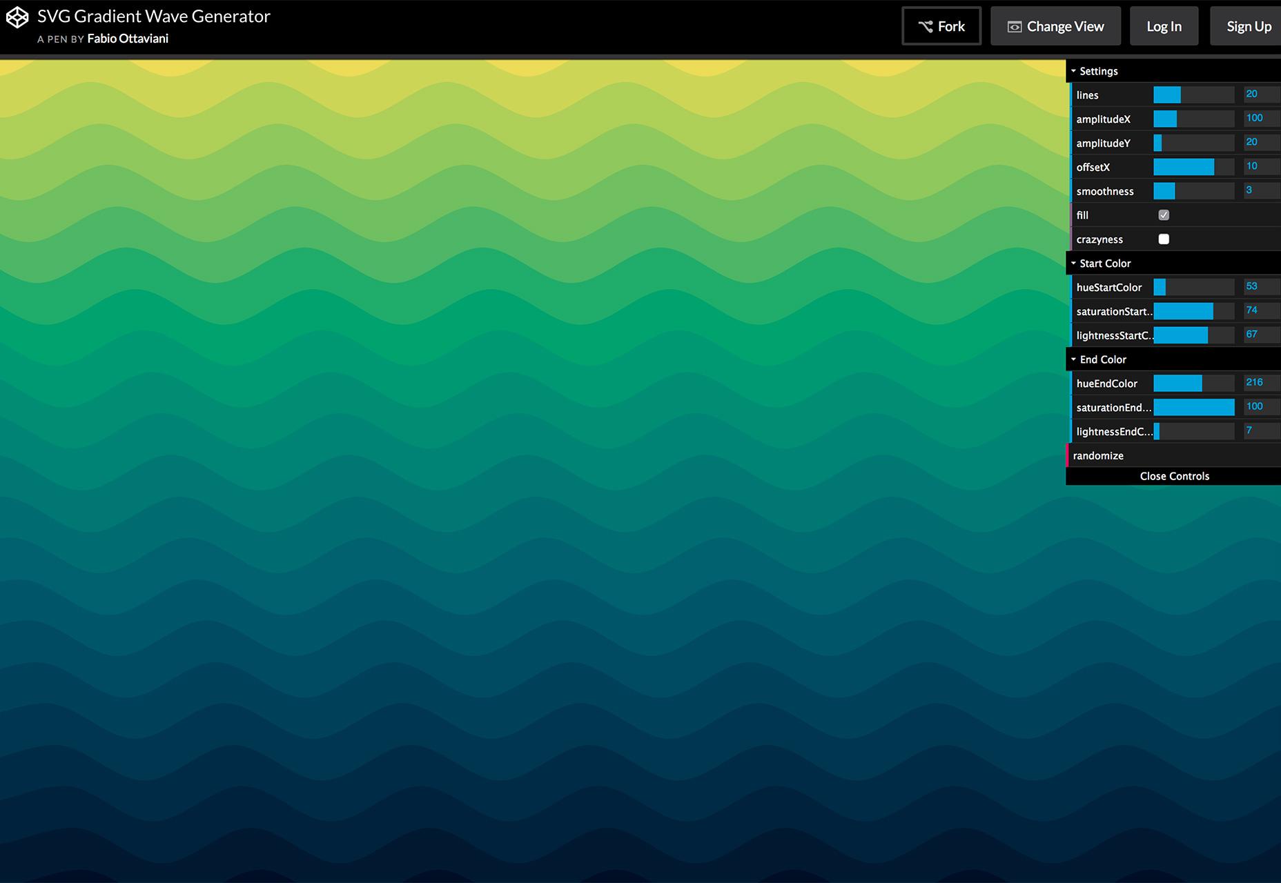 gradient-wave