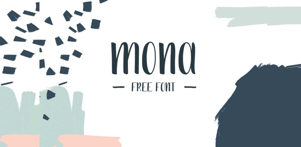 Free Download: Mona Font