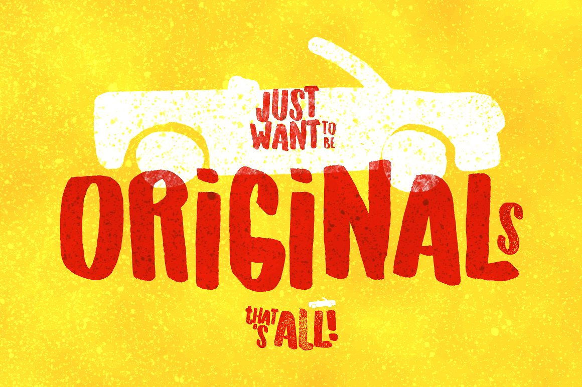 Free Download: Originals Font