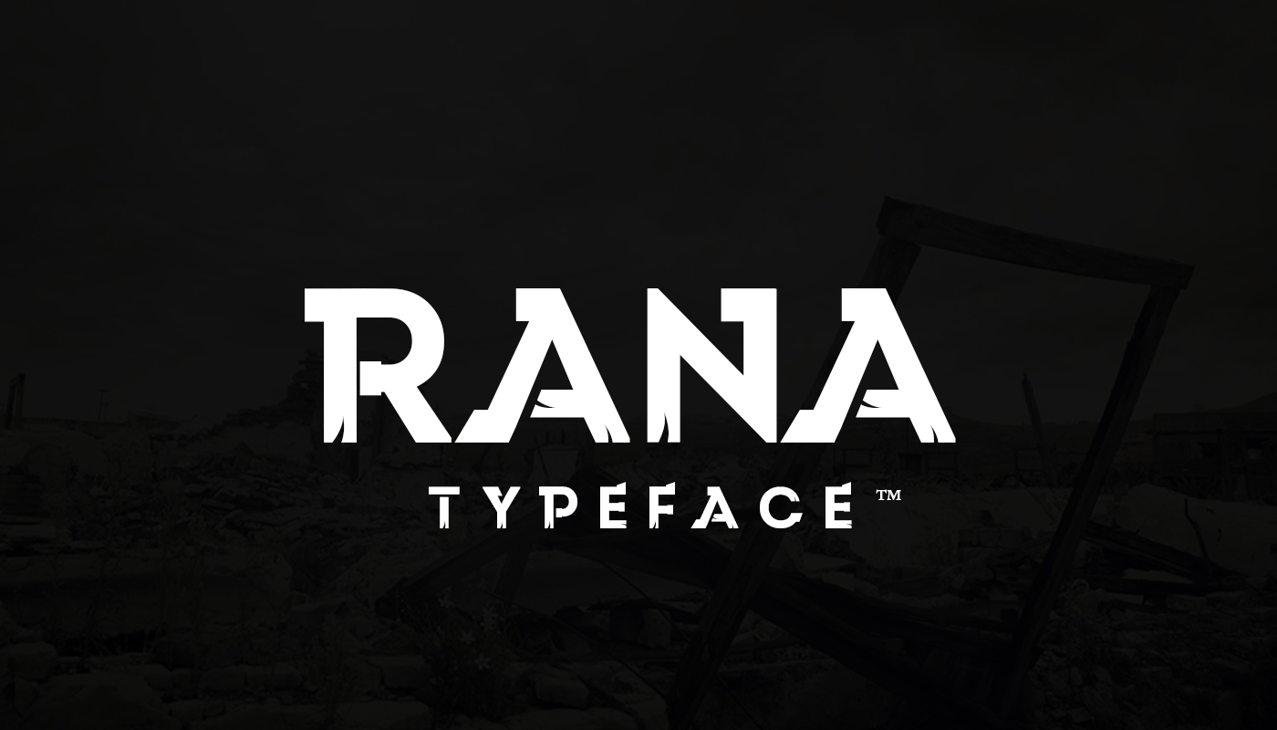 Free download: Rana Typeface