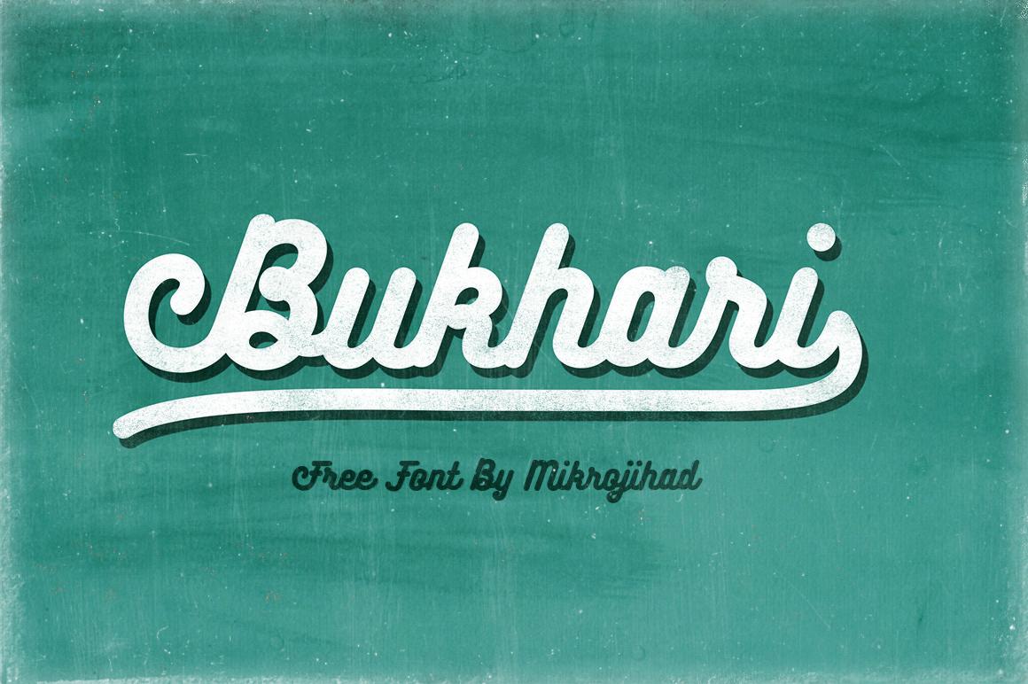 Free Download: Bukhari Script Font