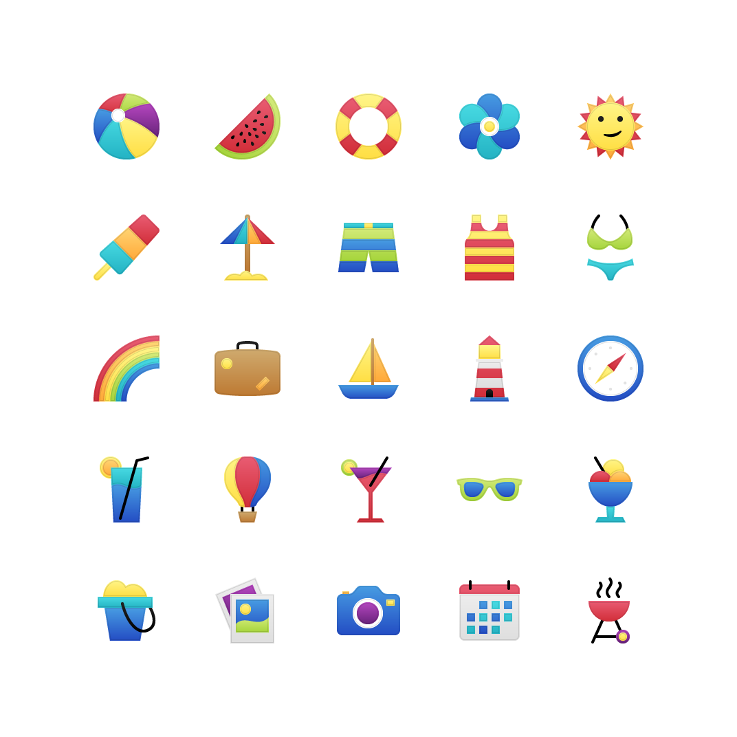 Free Download: Garland Icons