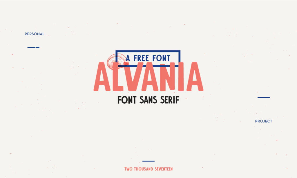 Free Download: Alvania Font