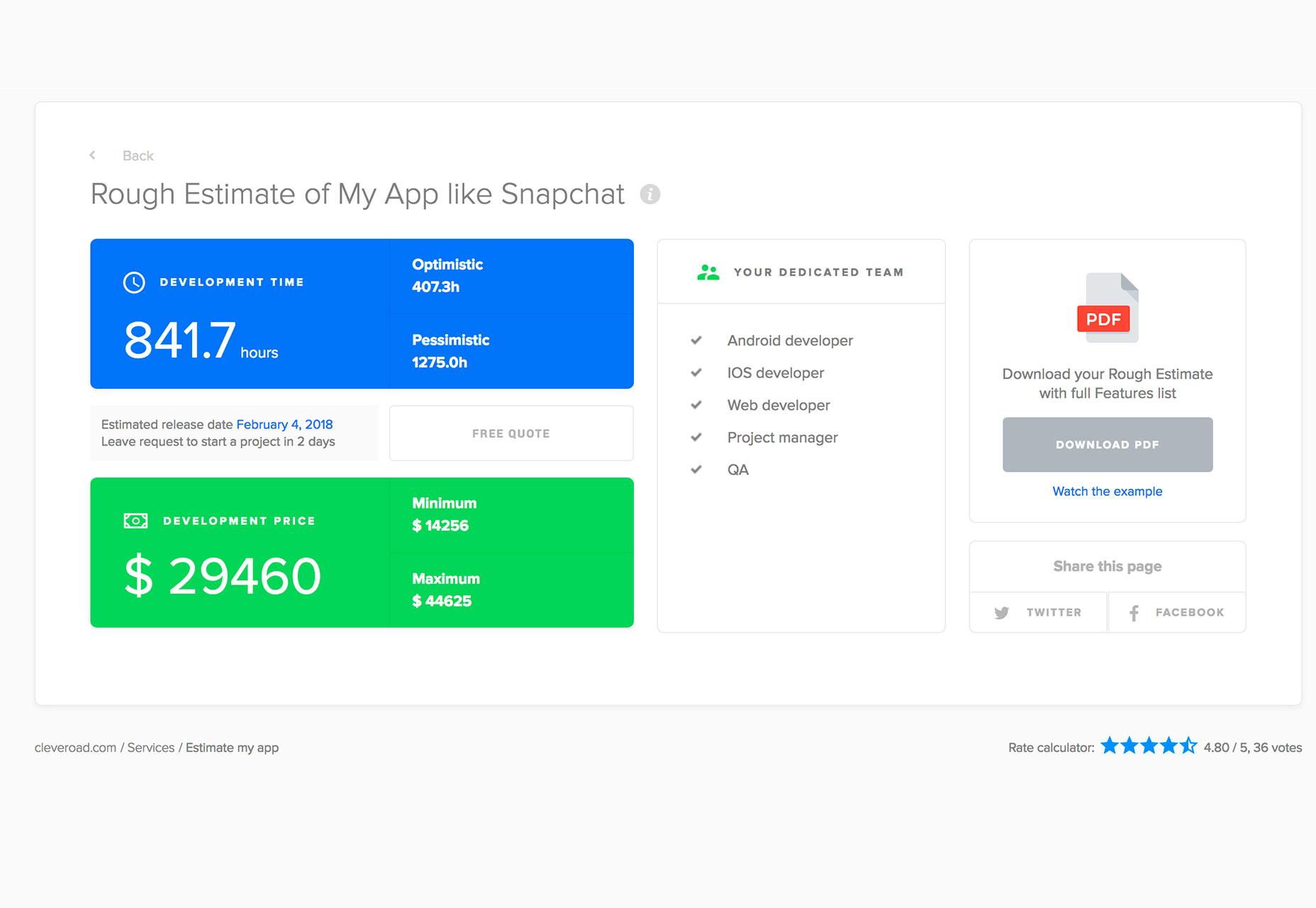 app-estimate
