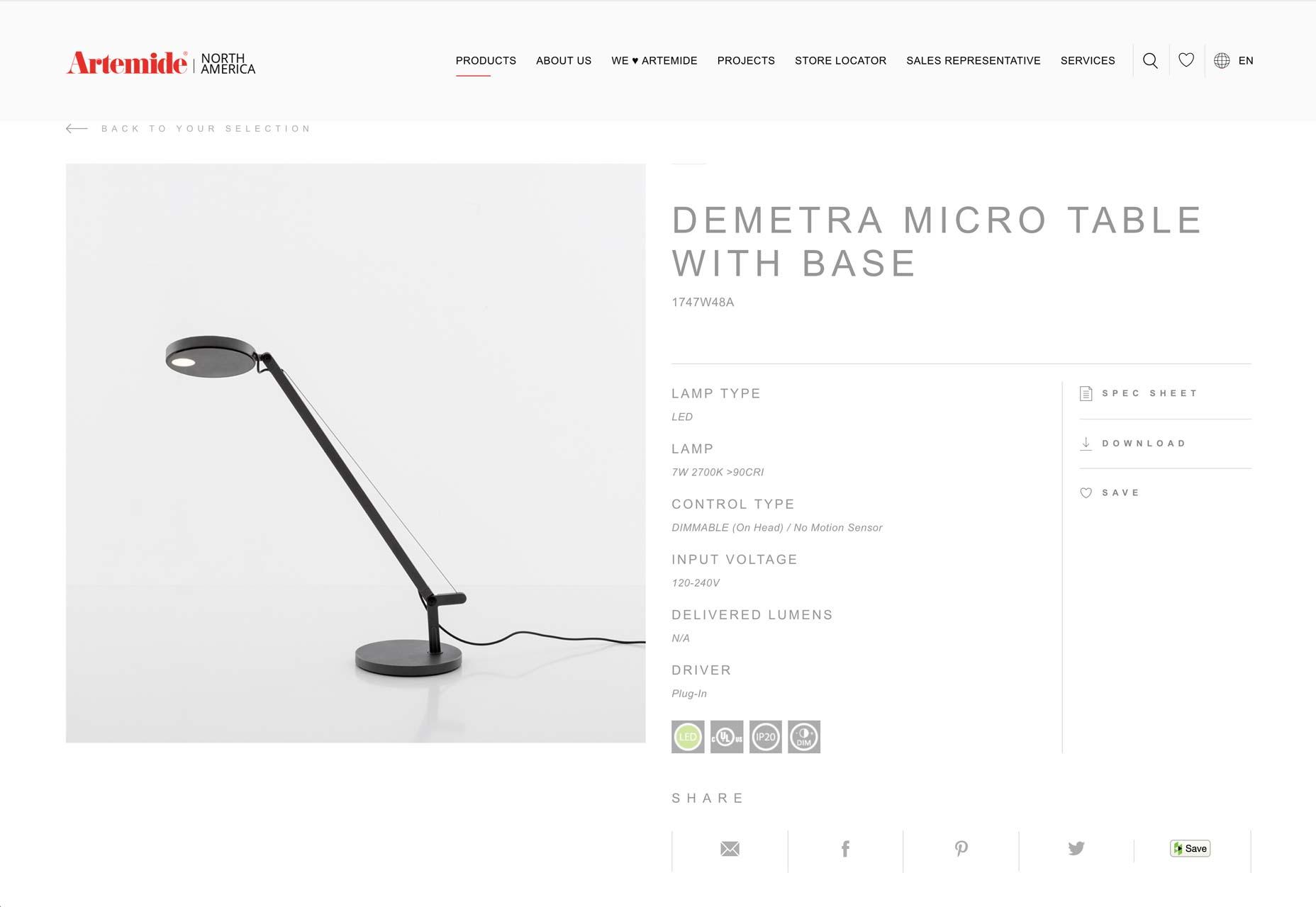 artemide-lamp