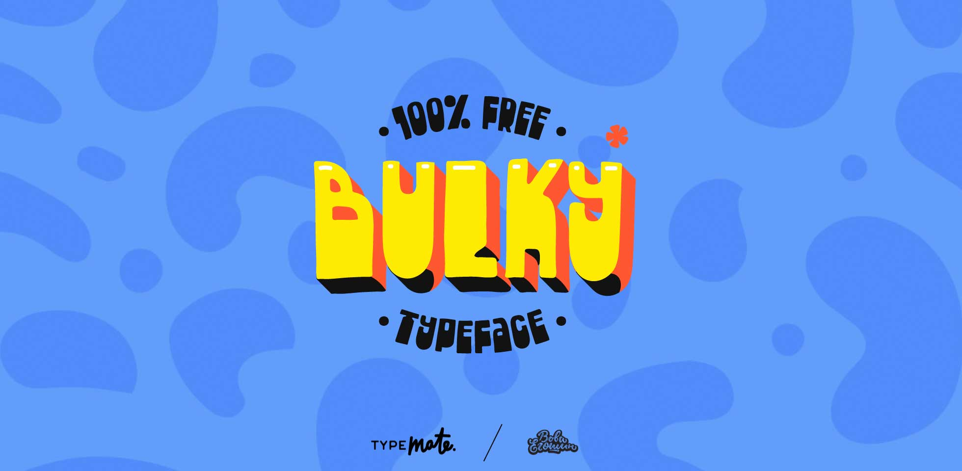 Free Download: Bulky Typeface