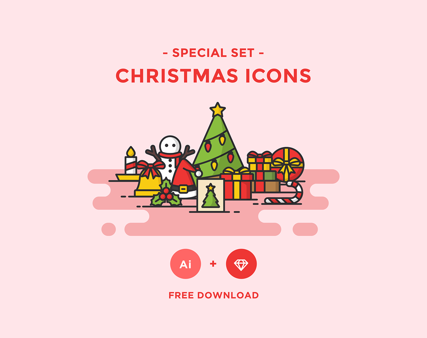 Free Download: Christmas Icons