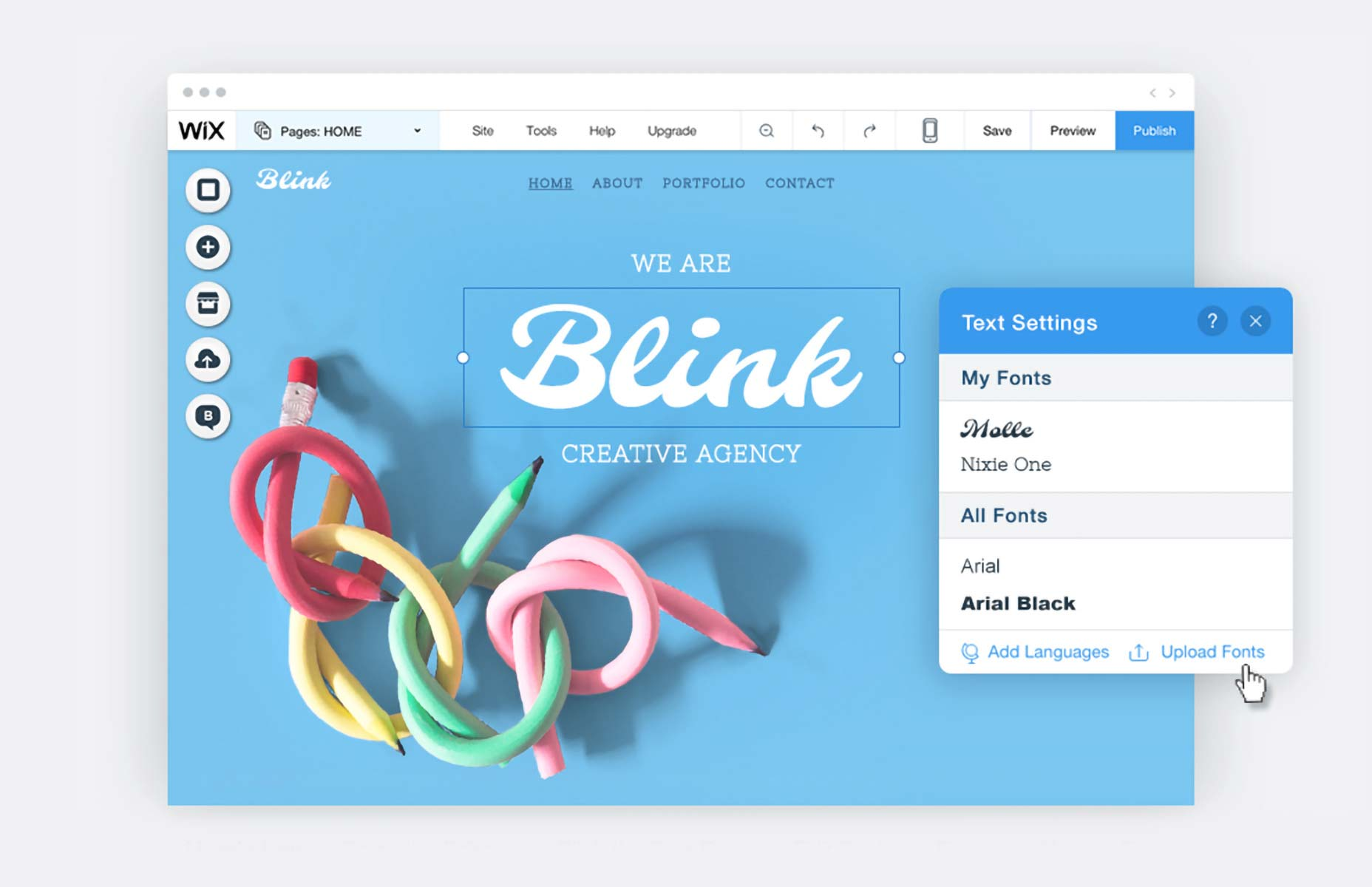 Find Your Creative Freedom Online with Wix | Webdesigner Depot
