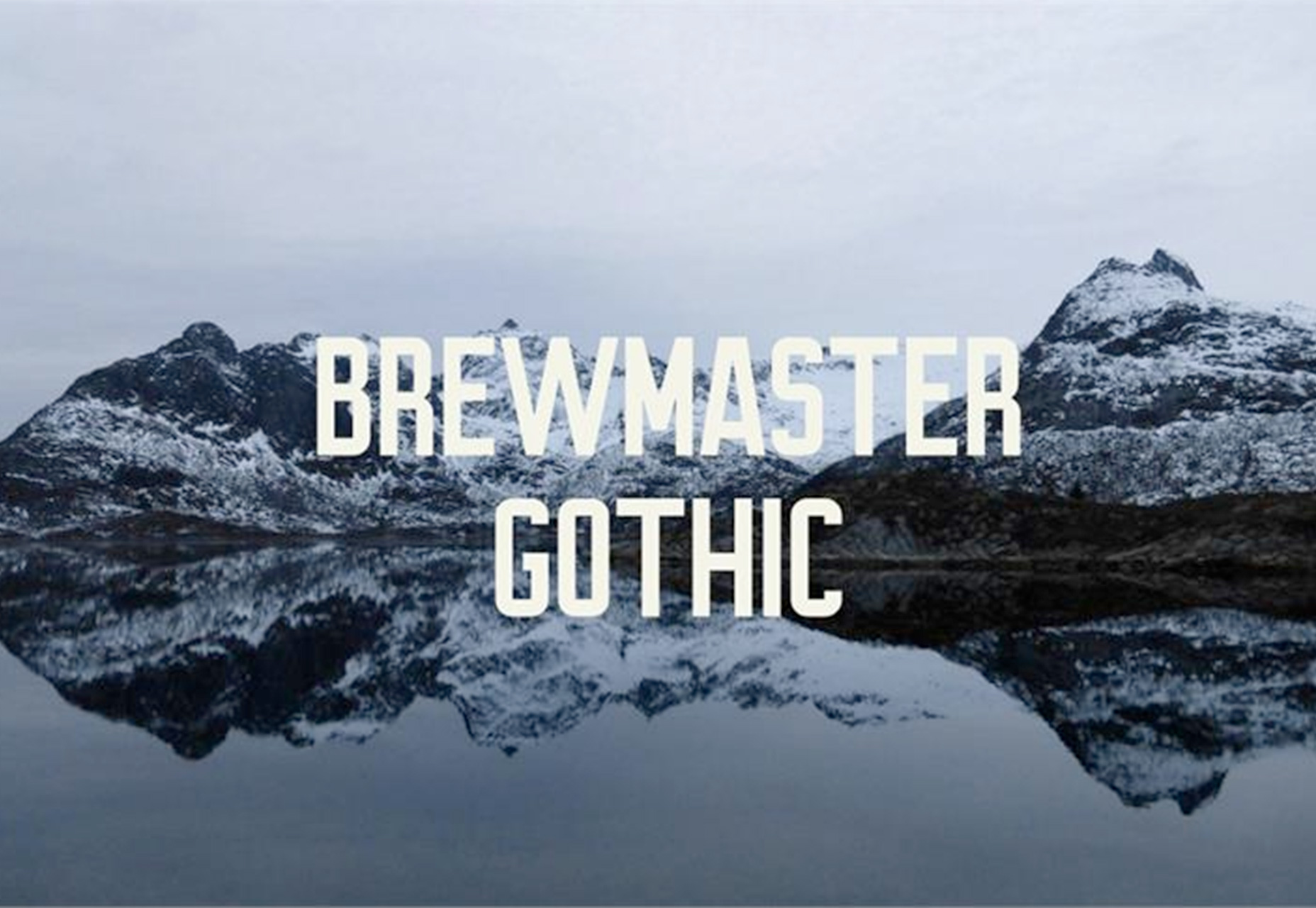 brewmaster-gothic